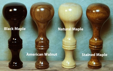 Hardwood Wax Seal Handle Finishes